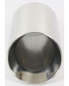 Stainless Steel Exhaust Tip Double Wall Stainless Steel Tip, Universal Type