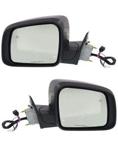 New Mirrors Set of 2 Driver & Passenger Side Heated CH1320361, CH1321361 Pair
