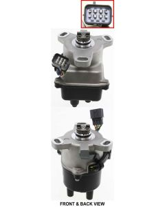 CR-V 99-01 DISTRIBUTOR, With rectangular 8-prong connector