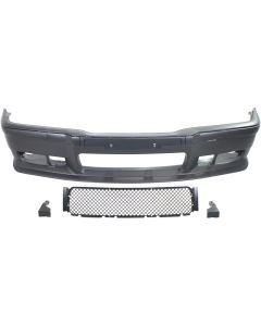 3-SERIES 92-99 FRONT BUMPER COVER, Sport Front Bumper Upgrade Kit, M3 Look, w/ Bumper Strips & Tow