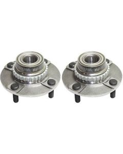 New Set of 2 Wheel Hubs Rear Driver & Passenger Side LH RH for Accent 97-99 Pair